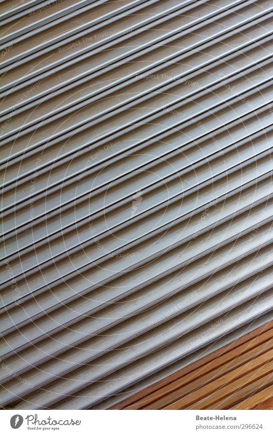Funktionsstreifen ruhig Erholung Holz Metall braun Kraft sitzen Zufriedenheit frei Lifestyle Streifen Fitness Lebensfreude fantastisch Bank Konzentration