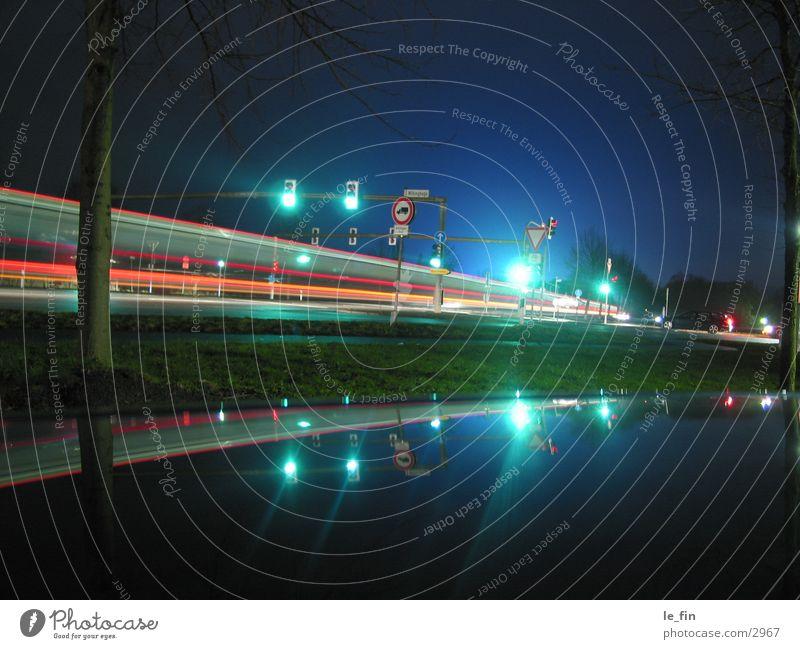 nachtbus Nacht Verkehr Licht Club
