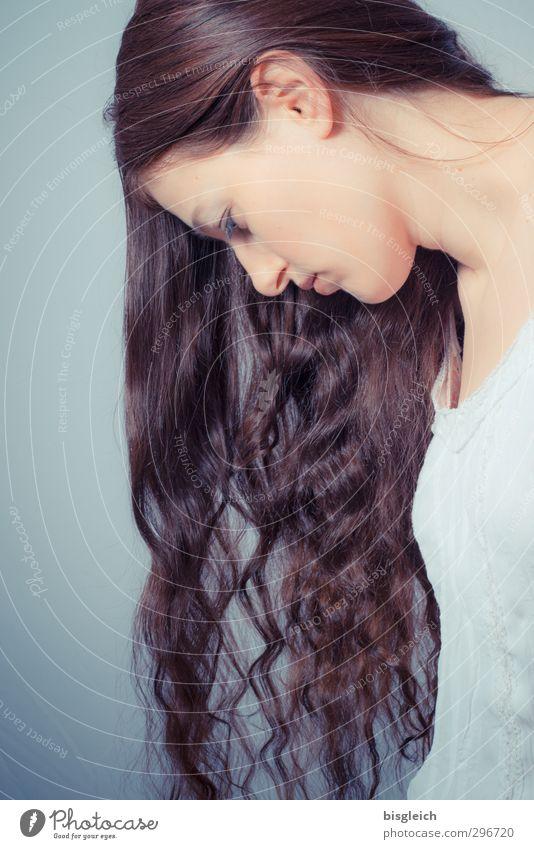 Katharina 11 Mensch Frau Jugendliche schön ruhig Erholung Junge Frau Gesicht Erwachsene feminin Haare & Frisuren 18-30 Jahre Kopf Haut Zufriedenheit brünett