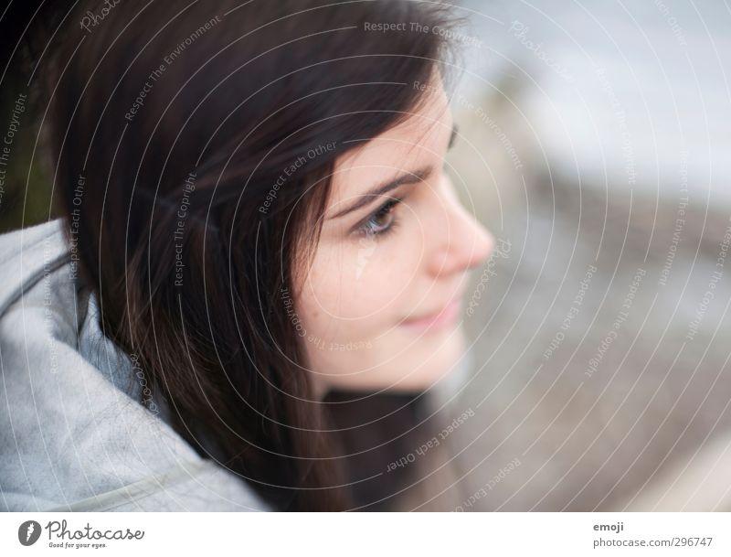 hazel eyes feminin Junge Frau Jugendliche Gesicht 1 Mensch 18-30 Jahre Erwachsene schön Farbfoto Außenaufnahme Tag Schwache Tiefenschärfe Porträt