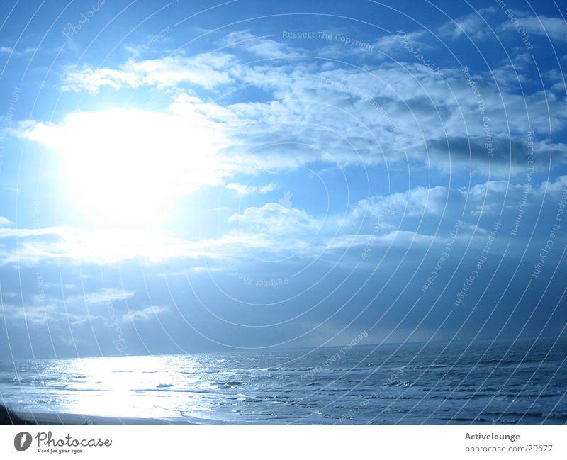 Himmlische Zeiten Wasser Himmel Sonne Meer blau Wolken frisch Europa Schönes Wetter
