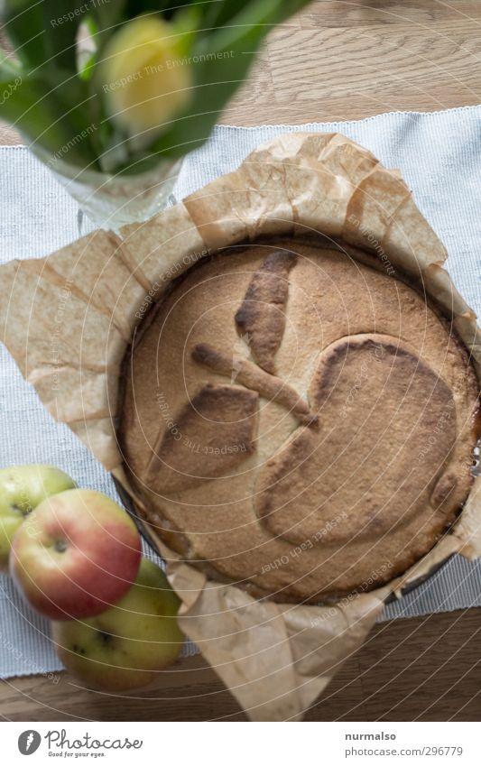 Hundertjähriger Apfelkuchen Lebensmittel Frucht Teigwaren Backwaren Kuchen Dessert Ernährung Essen Kaffeetrinken Bioprodukte Freizeit & Hobby Häusliches Leben