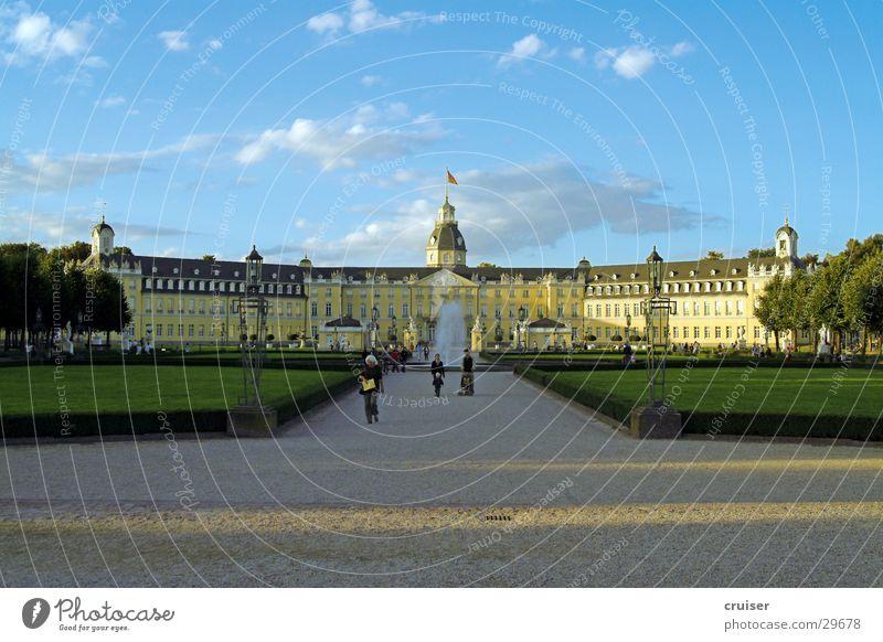 Karlsruhe Park historisch Wege & Pfade Rondell