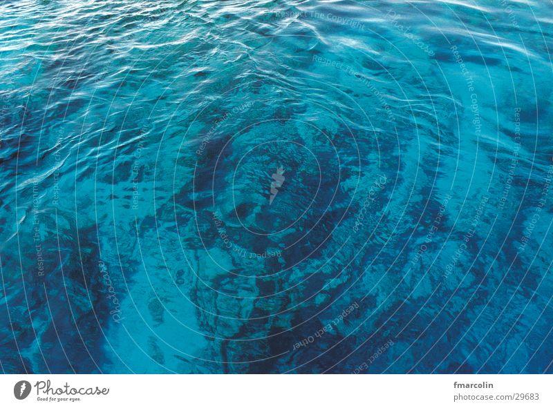 ocean Wasser Meer blau Wellen Meeresboden