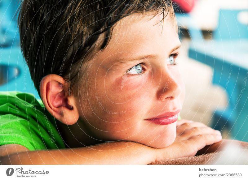 wertvoll | zu träumen Ferien & Urlaub & Reisen Tourismus Ausflug Abenteuer Ferne Freiheit Kind Junge Familie & Verwandtschaft Kindheit Körper Haut Kopf