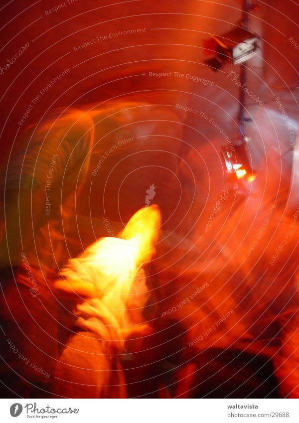 Disko Disco Licht Mensch Club Unschärfe Freizeit & Hobby Tanzen Party Partygast