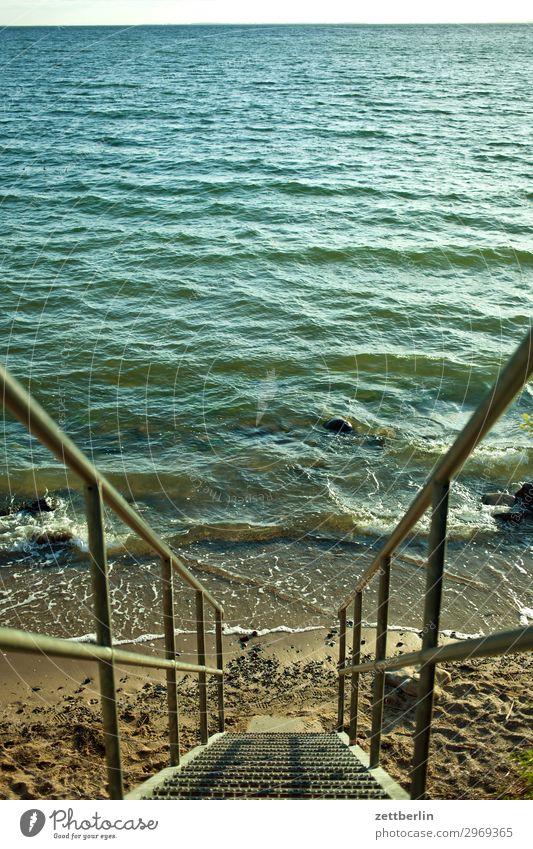 Strandzugang Ferien & Urlaub & Reisen Insel Küste Mecklenburg-Vorpommern Meer Vorpommersche Boddenlandschaft mönchgut Natur Ostsee Ostseeinsel Reisefotografie