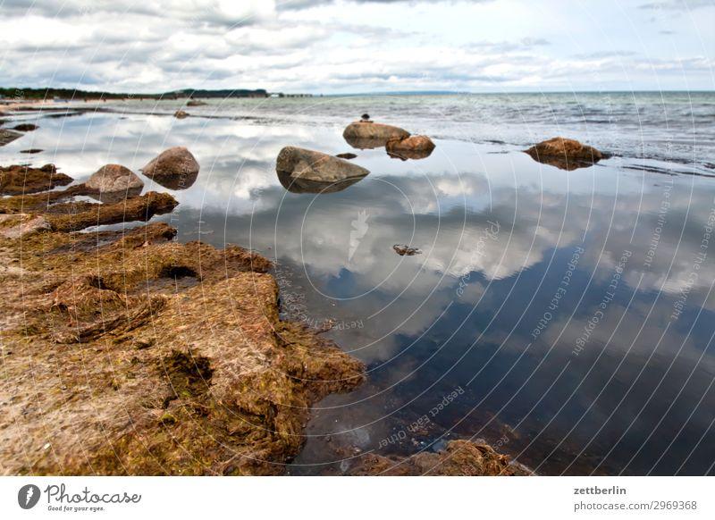 Göhren Ferien & Urlaub & Reisen Insel Küste Mecklenburg-Vorpommern Meer mönchgut Ostsee Ostseeinsel Reisefotografie Rügen Strand Tourismus Bucht Geröll Stein
