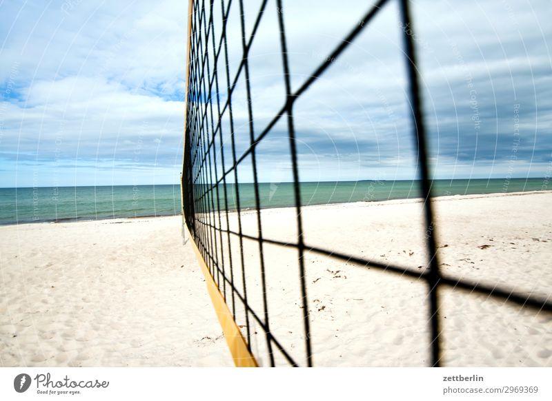 Beachvolleyball Ferien & Urlaub & Reisen Insel Küste Mecklenburg-Vorpommern Meer mönchgut Natur Ostsee Ostseeinsel Reisefotografie Rügen Sand Sandstrand Strand