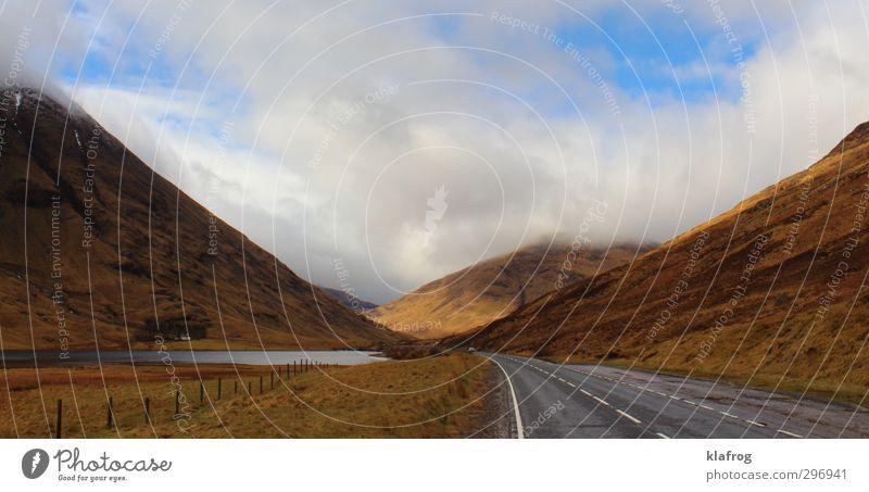 schottische highlands landschaft