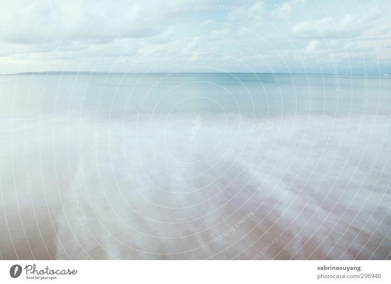 Natur Ferien & Urlaub & Reisen blau schön Wasser Meer Erholung Landschaft Strand Umwelt Schwimmen & Baden Kunst braun Wellen Lifestyle Wellness