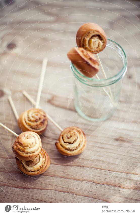 Hefeschnecken Teigwaren Backwaren Brot Brötchen Croissant Kuchen Süßwaren Ernährung Picknick Fastfood Fingerfood lecker süß zimtschnecke hefeschnecke Farbfoto