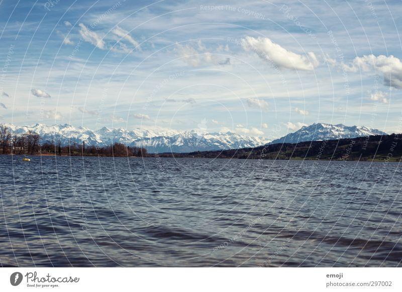 Wellengang Umwelt Natur Landschaft Himmel Klima Wetter Alpen Berge u. Gebirge See natürlich blau Schweiz Farbfoto Außenaufnahme Menschenleer Tag