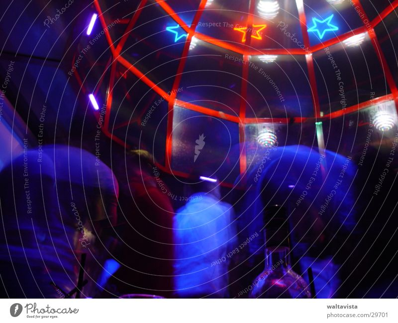 gay club 1 Club Disco Licht Lightshow Menschengruppe day toulouse Musik Party