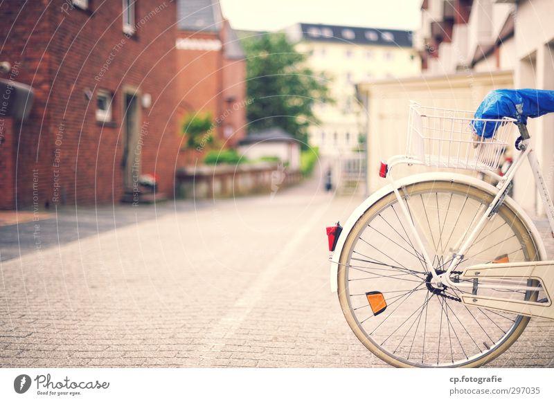 Stand by Stadt Sommer Haus Frühling Wege & Pfade Architektur Fahrrad Schönes Wetter Ausflug Fitness Dorf Fahrradtour Sport-Training Teich Kleinstadt Verkehrsmittel