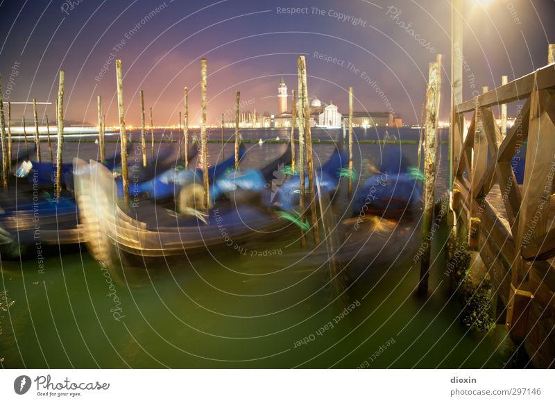 Ricordo Ferien & Urlaub & Reisen Stadt Wasser Meer Winter Schwimmen & Baden Insel leuchten Tourismus Italien Hafen Steg Schifffahrt Anlegestelle Stadtzentrum