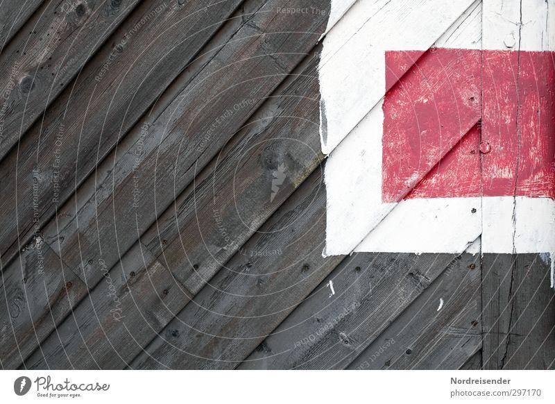 Endstation Arbeitsplatz Güterverkehr & Logistik Bauwerk Fassade Tür Verkehr Schienenverkehr Holz Zeichen Schilder & Markierungen Hinweisschild Warnschild