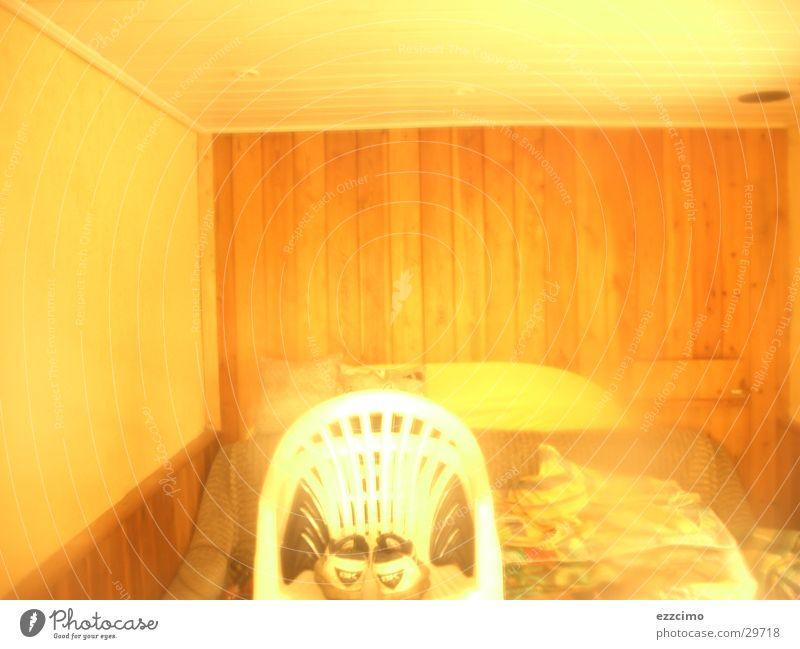 gartenlaube Fenster Tür Häusliches Leben Stuhl Sofa Gartenhaus