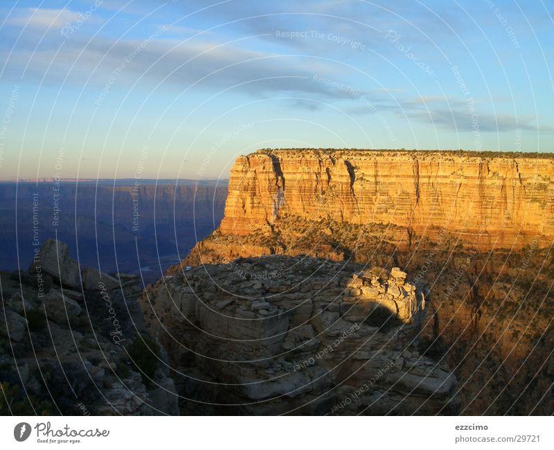 grand canyon Sonne Berge u. Gebirge groß Felsen USA tief Schlucht Riff Arizona Grand Canyon
