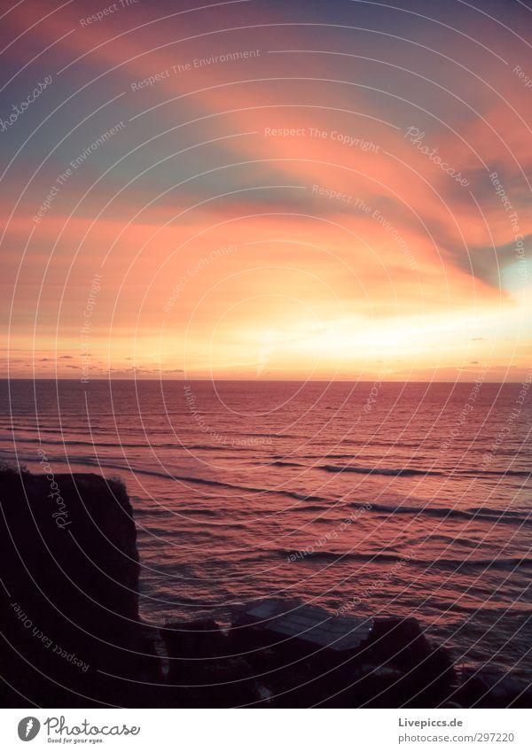 BimBamBali Ferien & Urlaub & Reisen Freiheit Sommer Sonne Strand Meer Insel Wellen Natur Landschaft Wasser Himmel Wolken Sonnenaufgang Sonnenuntergang