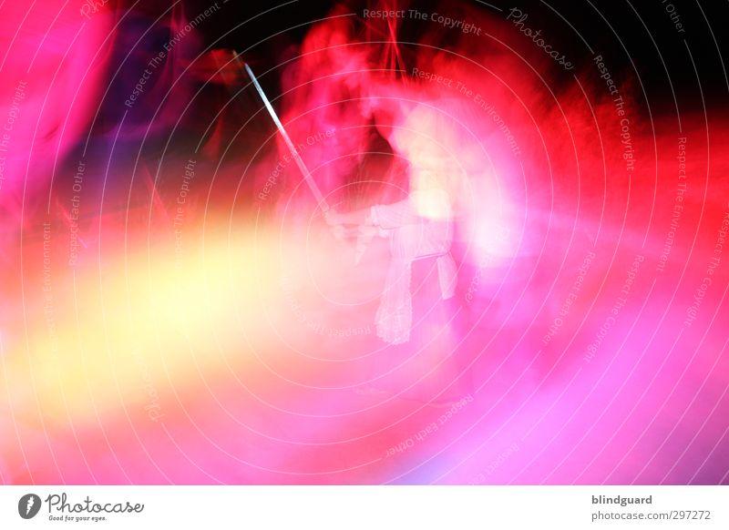 Zumutung | Frauen an die Waffen Mensch Frau Mann weiß rot schwarz Erwachsene gelb feminin Spielen Metall rosa Körper maskulin Freizeit & Hobby Rock