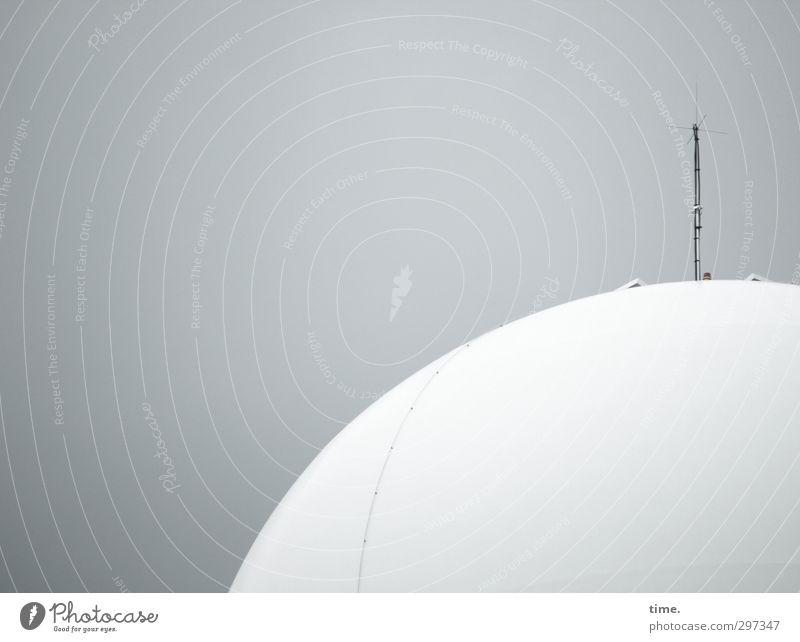 Radar Love (unplugged) Stadt weiß Einsamkeit außergewöhnlich Ordnung modern Beton Perspektive Luftverkehr Technik & Technologie Wandel & Veränderung