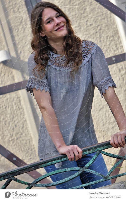 Christin VI elegant Stil Freude schön Körper Zufriedenheit feminin Junge Frau Jugendliche Erwachsene 1 Mensch 18-30 Jahre Mode Haare & Frisuren brünett
