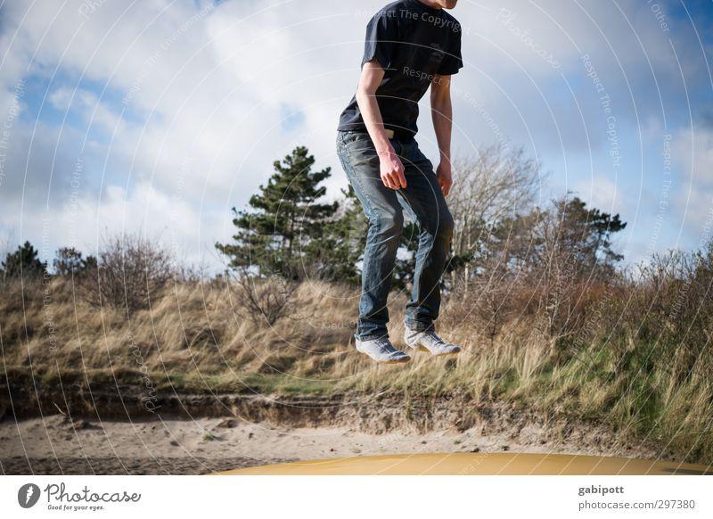Rømø | Størtebeker Freude Freizeit & Hobby Spielen Sport Mensch maskulin Junger Mann Jugendliche Erwachsene 1 18-30 Jahre springen Flugangst bizarr skurril