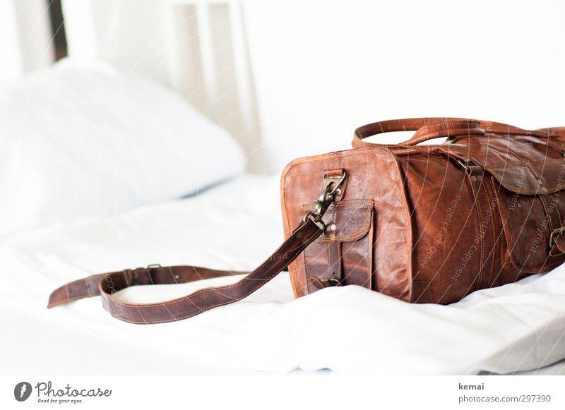 Rømø   Angekommen Ferien & Urlaub & Reisen weiß Stil hell braun Wohnung Freizeit & Hobby Lifestyle Häusliches Leben Tourismus Ausflug Bett trendy Decke Tasche
