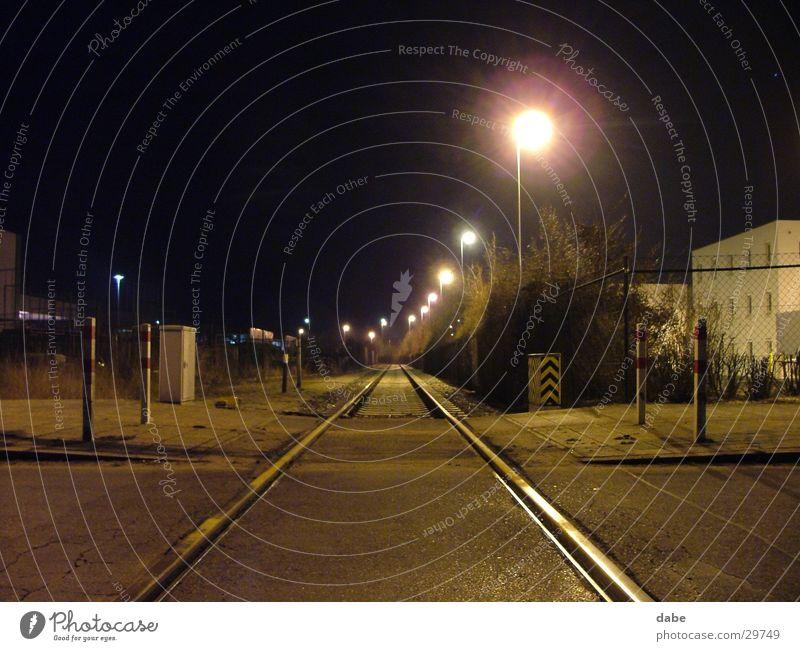 hafen nbg 01 ruhig Einsamkeit Industrie Hafen Gleise Nürnberg