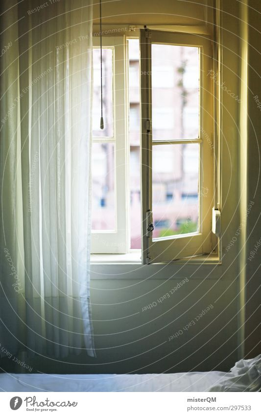 Zimmer mit Mehrblick. Kunst ästhetisch Autofenster Fensterladen Fensterscheibe Fensterbrett Fensterblick Fensterplatz Licht Lichterscheinung Hotel Hotelfenster