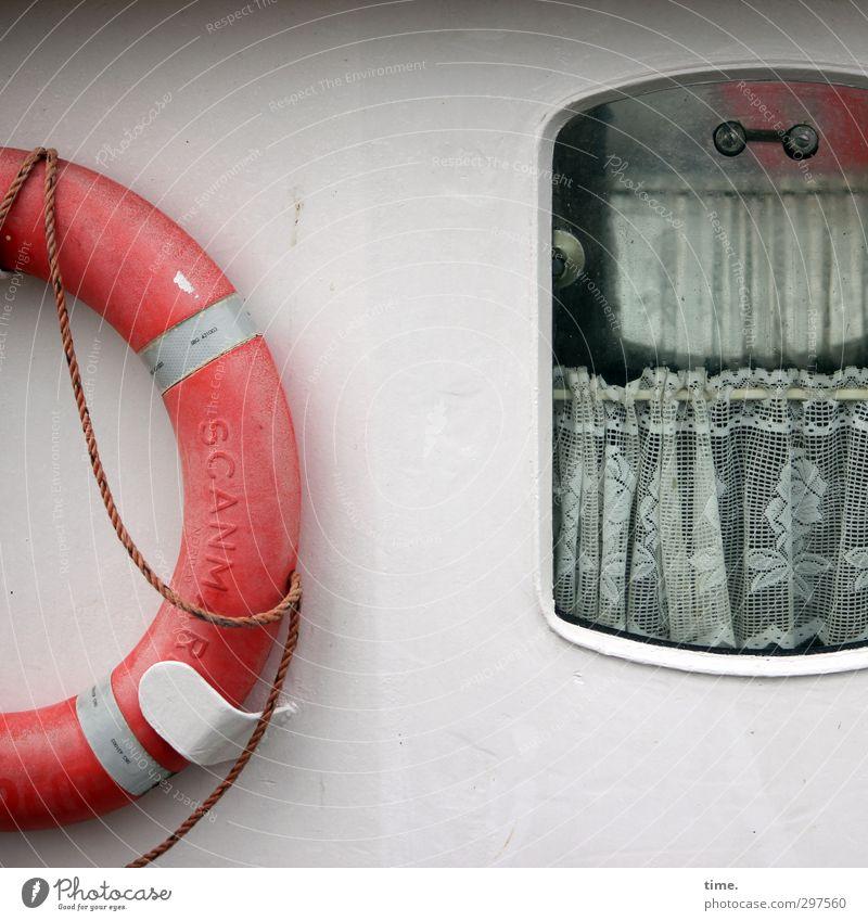 Rømø | smells like fischbröt Dekoration & Verzierung Gardine Schifffahrt Binnenschifffahrt Passagierschiff Fischerboot Bullauge An Bord Rettungsring Bordwand