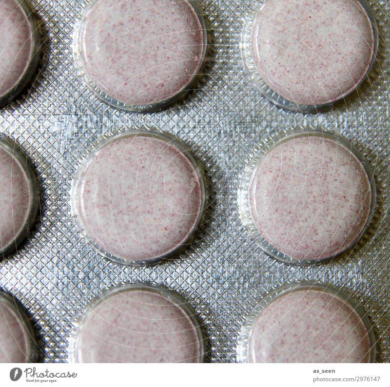 Tablettenverpackung Gesunde Ernährung Farbe weiß Gesundheit Gesundheitswesen rosa Design modern glänzend authentisch rund Kunststoff Krankheit Medikament Arzt