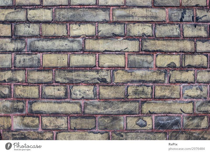 eine weitere Ziegelmauer Lifestyle Stil Design Basteln Häusliches Leben Haus Hausbau Renovieren Innenarchitektur Arbeit & Erwerbstätigkeit Arbeitsplatz