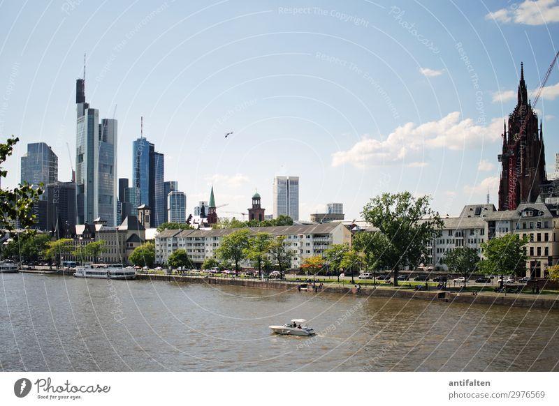 Mainhattan Lifestyle Ferien & Urlaub & Reisen Tourismus Ausflug Sightseeing Städtereise ausgehen Frankfurt am Main Deutschland Europa Stadt Stadtzentrum