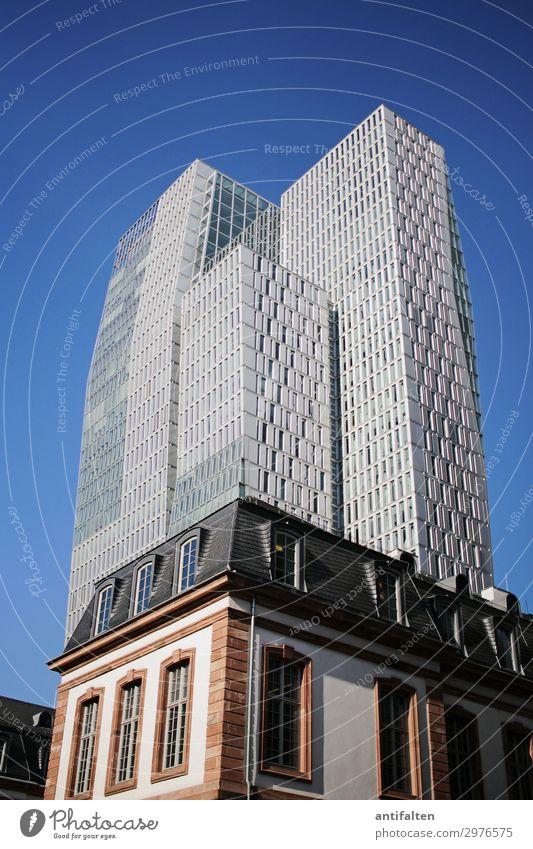 Von alt zu neu Lifestyle Ferien & Urlaub & Reisen Tourismus Städtereise Häusliches Leben Haus Frankfurt am Main Deutschland Europa Stadt Stadtzentrum