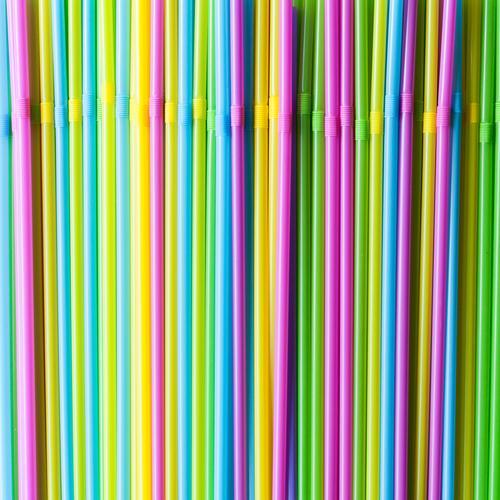 Trinkhalme Ferien & Urlaub & Reisen Sommer Feste & Feiern Party ästhetisch genießen einzigartig trinken Sommerurlaub Kunststoff Müll Bar Erfrischungsgetränk