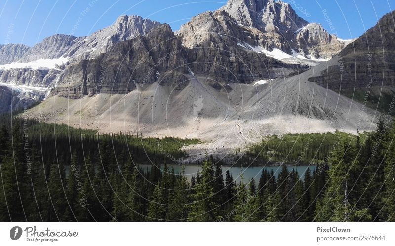 Britisch Columbia Lifestyle Ferien & Urlaub & Reisen Tourismus Abenteuer Ferne Sommerurlaub Berge u. Gebirge Natur Landschaft Himmel Gipfel