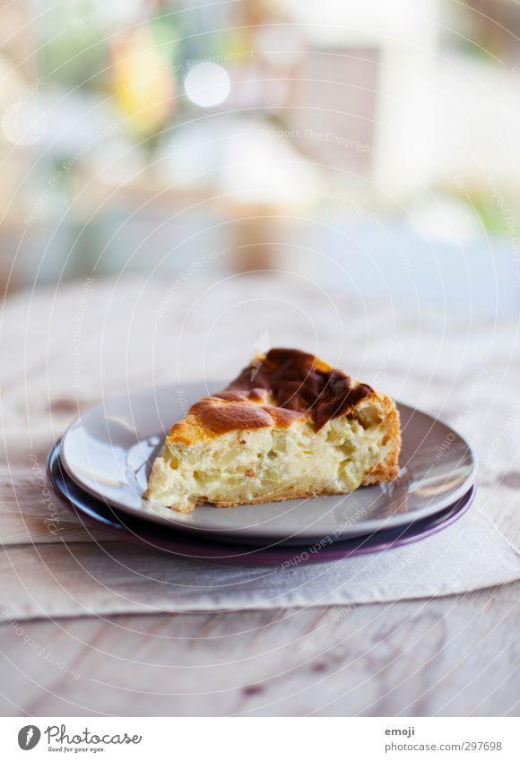Rhabarber Ernährung süß lecker Kuchen Teller Dessert Milcherzeugnisse Slowfood Tortenstück