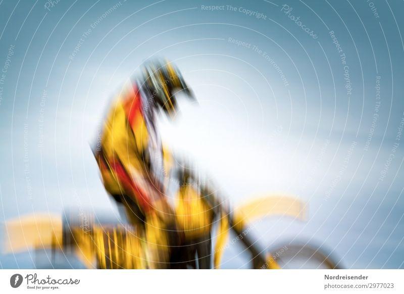 Zielgerade sportlich Leben Freizeit & Hobby Sport Fitness Sport-Training Motorsport Sportler Erfolg Verlierer Maschine Mensch maskulin feminin androgyn Verkehr