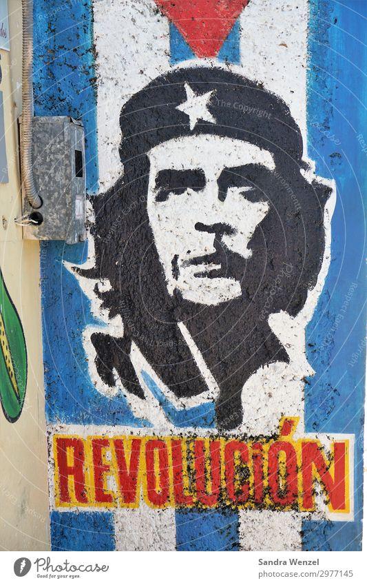 Che Guevara maskulin 1 Mensch einzigartig Politik & Staat Kommunismus Kubaner Revolution Amerika Regierung Farbfoto mehrfarbig Menschenleer Tag