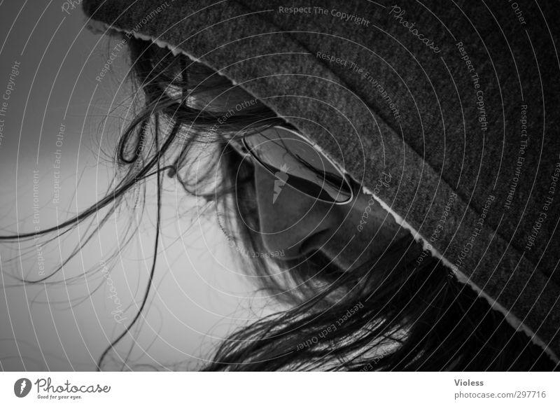 Rømø   stranger..... Gesicht Kopf maskulin Coolness beobachten Sonnenbrille Kapuze