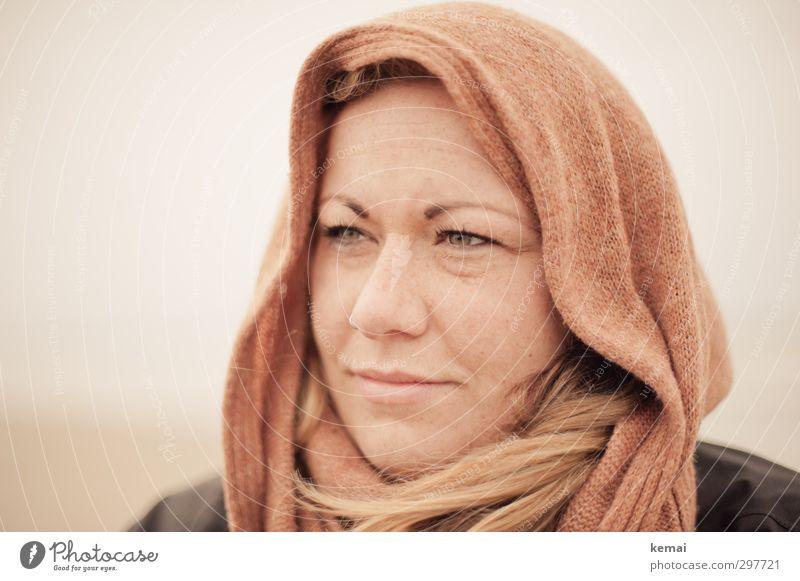 Rømø | Wo geht's denn hier nach Bethlehem? Lifestyle Mensch feminin Junge Frau Jugendliche Erwachsene Leben Kopf Auge Nase Mund Lippen 1 18-30 Jahre Kopftuch