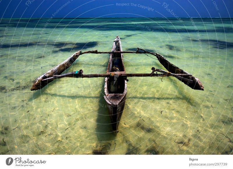 Natur blau Ferien & Urlaub & Reisen Wasser Sonne Meer Landschaft Strand Holz Wasserfahrzeug Tourismus Ausflug Abenteuer tauchen Bucht Holzbrett