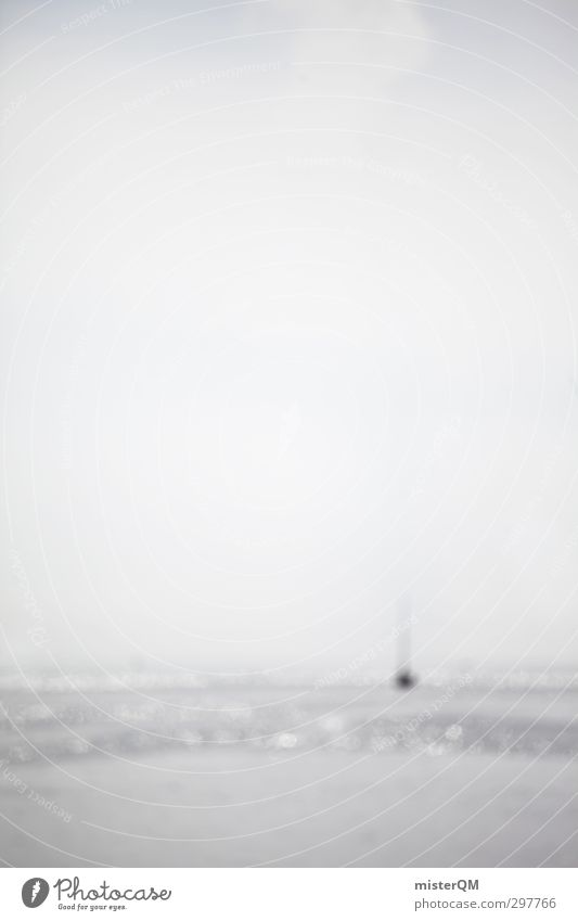 OCEAN. Himmel (Jenseits) Meer Ferne Stil Kunst hell Wasserfahrzeug Horizont Zufriedenheit Idylle ästhetisch Gemälde Surrealismus verträumt Kunstwerk