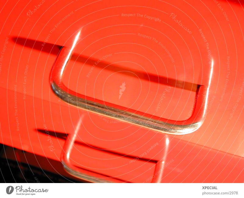 Open red rot silber aufmachen Schublade