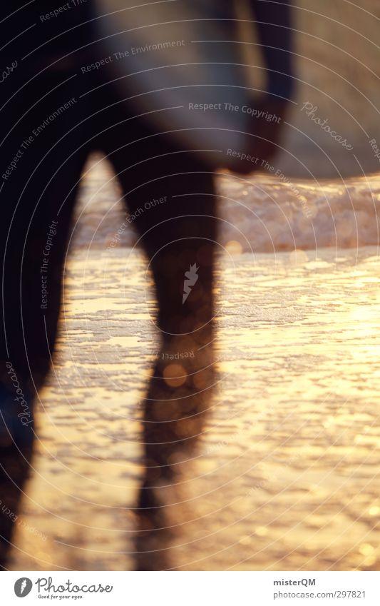 out we go. Wasser Strand Küste Kunst Wellen Zufriedenheit Aktion ästhetisch Romantik Erfrischung Surfen spritzen Wassersport Schaum Surfer Atlantik