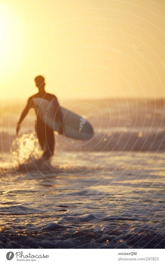 playground. Lifestyle elegant Stil Design exotisch Freude Freizeit & Hobby Kunst ästhetisch Surfen Surfer Surfbrett Surfschule Meer Meerwasser Abenteuer