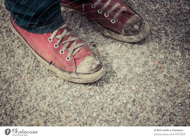 Rømø - shoes f***** up rot Mode Schuhe modern trashig Turnschuh