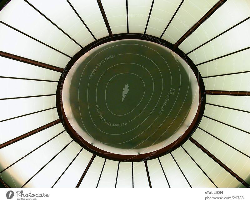 cour vitrée Fenster Licht Oval Architektur Lichhof Sonne Stern (Symbol)